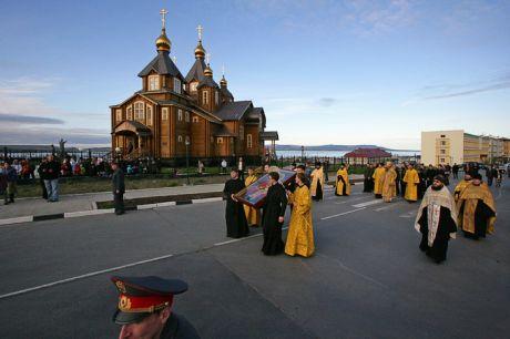 Чукотская епархия: Прибытие архиепископа...