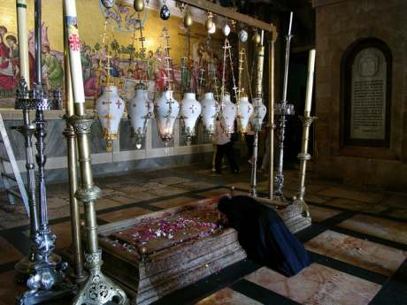 Камень помазания. Иерусалим