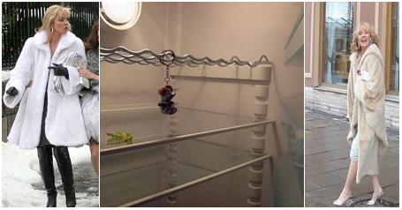 Теперь есть шуба, но пуст холодильник