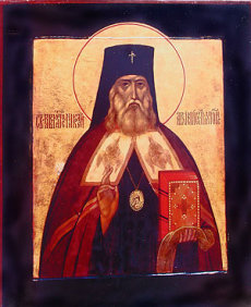 Икона святителя Николая Японского – первый образ равноапостольного миссионера, написанный монахиней Иулианией (Соколовой) сразу же после прославления святого в 1970 г.